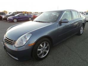 2006 Infiniti G35 Sedan 4dr Car 4DR SDN AT